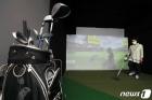 정상 영업 하루 앞둔 스크린 골프장