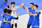한국전력 '승리가 보인다'
