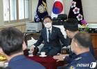 교정시설 찾은 박범계 법무부 장관