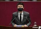 """김웅, 초선들 앞에서 당대표 출마의지…""""목숨걸고 할 것"""""""