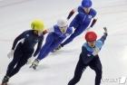 김다겸, 男 500m 결승 1위
