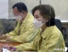 """유은혜 """"자가검사키트 학교 적용 시기상조…집단감염 엄중 인식""""(종합)"""