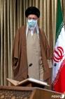 코란 낭송회 도착하는 하메네이 이란 최고 지도자