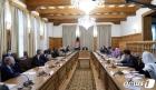 회담하는 블링턴 국무와 가니 아프간 대통령