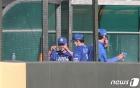삼성 오승환 '큰점수차에 미뤄진 300세이브'