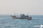 서해5도 특별경비단 '불법조업 중국어선 나포'
