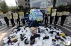 '배달용 쓰레기에 몸살 앓는 지구'
