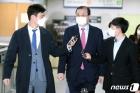 '재판개입' 혐의 임성근 전 판사 법원 출석