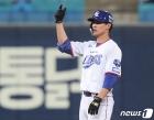 삼성 강한울 '깨끗한 2루타'