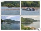 수자원공사, 추락헬기 인양 중 유류유출 대비 2중 오일펜스 설치