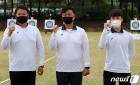 도쿄 올림픽 양궁 국가대표 '김우진·오진혁·김제덕'