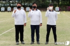 도쿄 올림픽 출전권 획득한 김우진·오진혁·김제덕