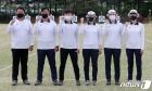 파이팅 외치는 도쿄올림픽 양궁 국가대표