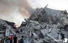 """팔레스타인 의료진 """"이스라엘 공습으로 일가족 최소 10명 사망"""""""
