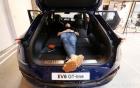 The Kia EV6, 여유로운 트렁크 공간