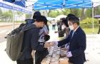 군산대, '따뜻한 천원의 아침' 행사 열어