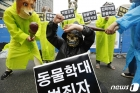 한국동물보호연합, 동물학대 더 이상 안돼!