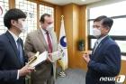 주한 과테말라 대사 만난 허태웅 농진청장