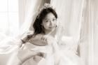 '결혼 D-5' 하연주, 순백 웨딩드레스·단아한 한복…그림같은 웨딩화보