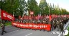 """북한 """"피해복구 위해 함경남북도 간 수도 당원들…우리의 국풍"""""""