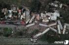 주택가 덮친 멕시코 탈선 화물 열차