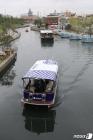 포항운하 달리는 자율주행 선박