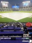 우천으로 중단되는 야구경기