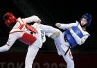이다빈, 은메달 수확…韓 태권도 첫 '노골드'
